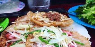 Quán Bánh Xèo Mực Ngon Ở Nha Trang