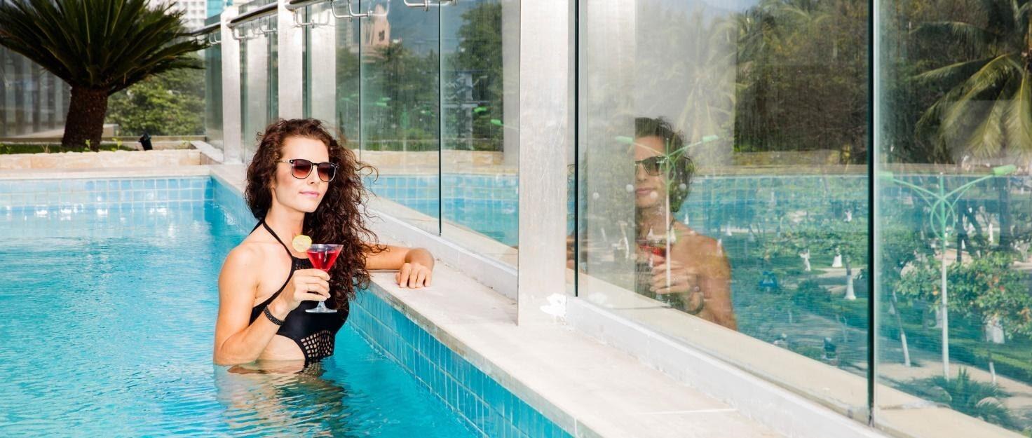 StarCity Nha Trang sở hữu hồ bơi hiện đại bậc nhất Việt Nam