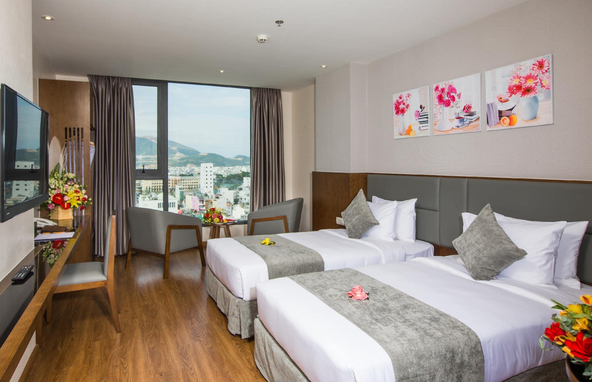 Khách Sạn Nha Trang Gần Quảng Trường - DTX Hotel Nha Trang