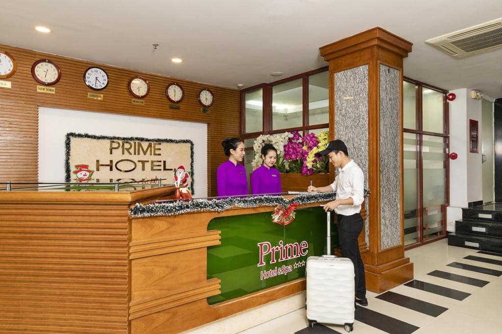 khách sạn 3 sao gần bãi biển nha trang-Prime Hotel Nha Trang