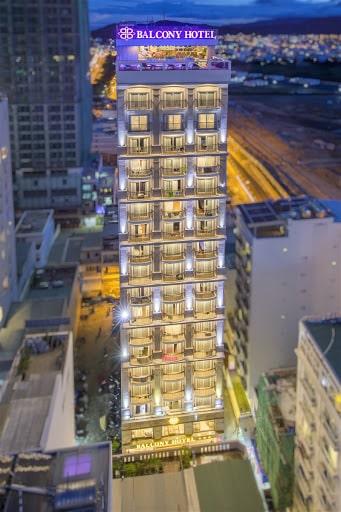 khách sạn 3 sao mặt biển nha trang-Balcony Hotel Nha Trang