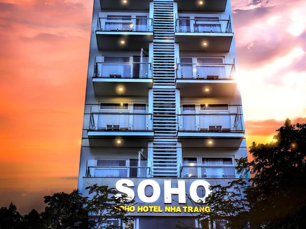khách sạn 3 sao gần bãi biển nha trang-Soho Hotel Nha Trang
