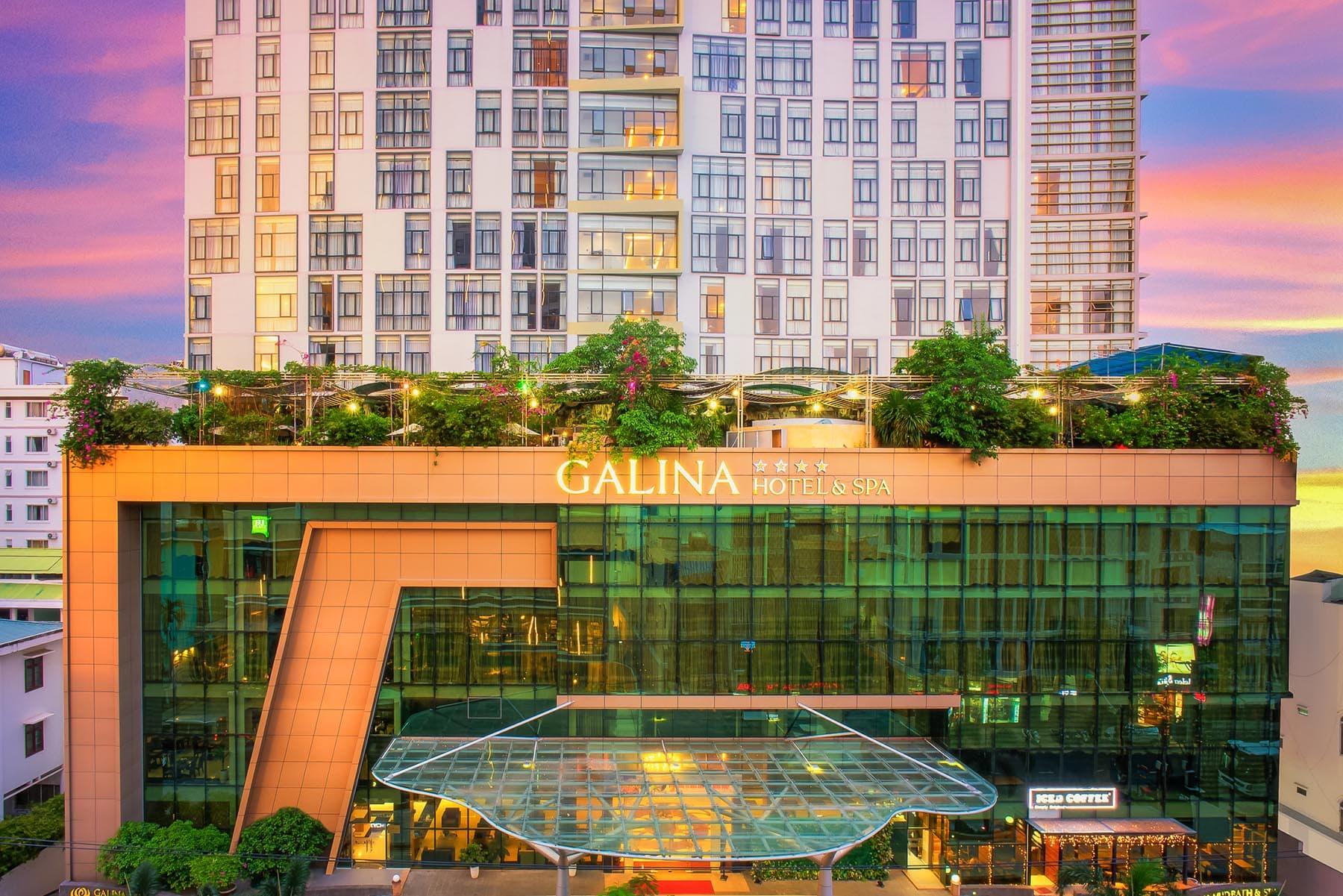 Khách Sạn Nha Trang Gần Trung Tâm - Galina Hotel & Spa Nha Trang