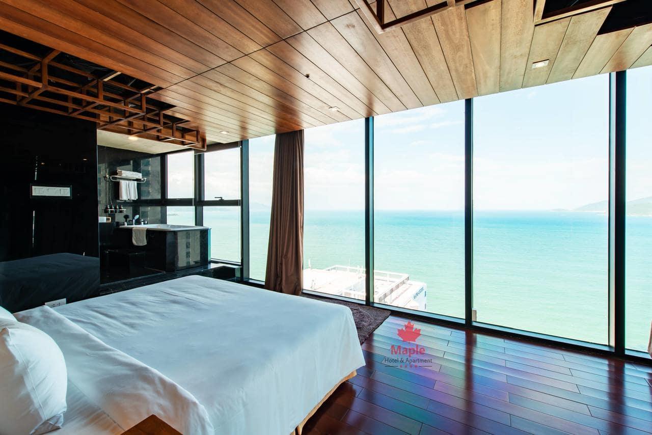 Khách Sạn Nha Tragn Hướng Biển - Maple Hotel & Apartrment Nha Trang