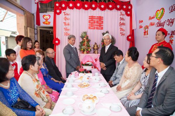 bài phát biểu đám cưới của họ nhà gái