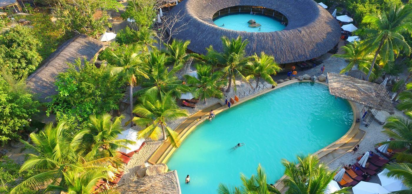 Hot Mineral Spring resort